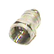 Esaw F56A F fitting for RG6 with attached ring