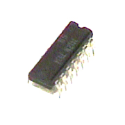 7412PC IC TTL Triple 3-input NAND gate with open collector output 14 pin DIP