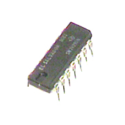 74290 IC TTL 4-bit asynchronous decade counter with /2 and /5 sections. set(9) and reset 14 pin DIP