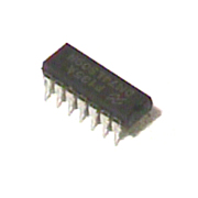 74LS09 low power Schottky IC quad 2-input AND gate open collector outputs