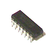 74LS10 low power Schottky IC triple 3-input NAND gate