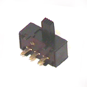 83-130 right angle printed circuit SPDT slide switch