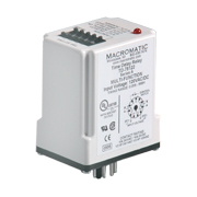 Macromatic TD-78122 multi-function time delay relay 120VAC=DC
