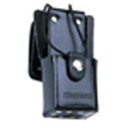 Maxon QPA-1491 leather case with swivel for SP series