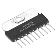 NTE1256 linear audio output IC