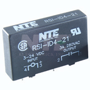 NTE RS1-1D4-21 Printed Circuit Board Mountable Solid State Relay 4 Amp