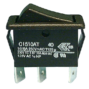 Philmore 40-460 SPDT 16A rocker switch on-on