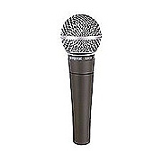 Shure SM58-LC cardiod vocal microphone less cable