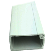 SR Components 175DW2 raceway 6ft x 3/4 x 1 inch wire duct white